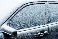 Παγωμένο αυτοκίνητο Στοκ Εικόνα