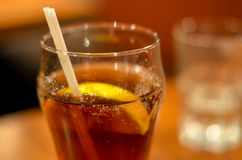 παγωμένο γυαλί τσάι Στοκ φωτογραφία με δικαίωμα ελεύθερης χρήσης
