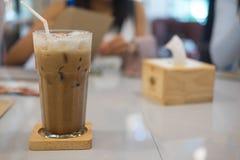 Παγωμένο κακάο ή παγωμένο mocha στοκ φωτογραφία με δικαίωμα ελεύθερης χρήσης