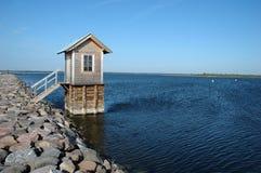 παγωμένο λιμάνι μικρό Στοκ φωτογραφία με δικαίωμα ελεύθερης χρήσης