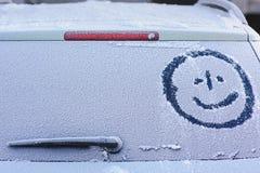 Παγωμένο οπίσθιο παράθυρο Στοκ εικόνα με δικαίωμα ελεύθερης χρήσης