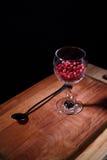 Παγωμένο οργανικό cowberry στοκ εικόνα με δικαίωμα ελεύθερης χρήσης