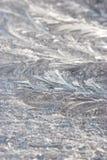 παγωμένο παγωμένο πρότυπο &alp Στοκ εικόνες με δικαίωμα ελεύθερης χρήσης