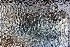 Παγωμένο παράθυρο γυαλιού Στοκ εικόνα με δικαίωμα ελεύθερης χρήσης