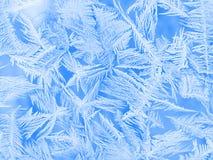 παγωμένο παράθυρο προτύπω&nu Στοκ Εικόνες