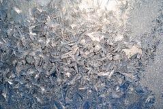 παγωμένο παράθυρο Στοκ φωτογραφία με δικαίωμα ελεύθερης χρήσης