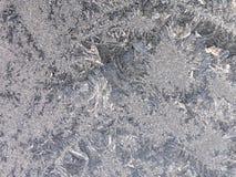 παγωμένο παράθυρο Στοκ Εικόνα