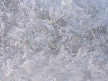 παγωμένο παράθυρο Στοκ εικόνα με δικαίωμα ελεύθερης χρήσης