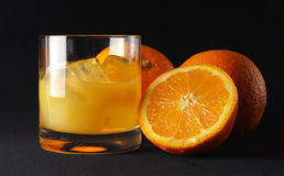 παγωμένο πορτοκάλι Στοκ φωτογραφία με δικαίωμα ελεύθερης χρήσης