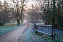 παγωμένο πρωί Στοκ εικόνες με δικαίωμα ελεύθερης χρήσης