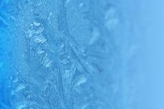 παγωμένο πρότυπο γυαλιού Στοκ εικόνες με δικαίωμα ελεύθερης χρήσης