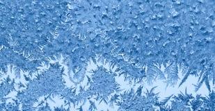 παγωμένο πρότυπο γυαλιού Στοκ Εικόνες