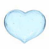 Παγωμένο σημάδι καρδιών Στοκ εικόνα με δικαίωμα ελεύθερης χρήσης