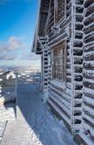 παγωμένο σπίτι Στοκ εικόνες με δικαίωμα ελεύθερης χρήσης
