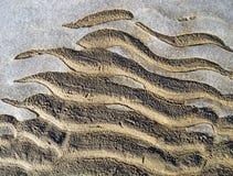 Παγωμένο σχέδιο άμμου και πάγου. στοκ εικόνες με δικαίωμα ελεύθερης χρήσης