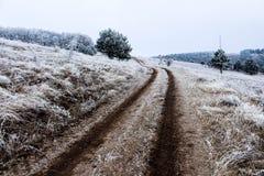παγωμένο τοπίο στοκ φωτογραφίες