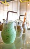 Παγωμένο τσάι στο βάζο γυαλιού Στοκ φωτογραφία με δικαίωμα ελεύθερης χρήσης
