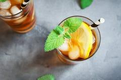 παγωμένο τσάι Στοκ Εικόνα