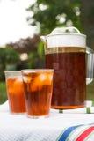 παγωμένο τσάι Στοκ εικόνα με δικαίωμα ελεύθερης χρήσης