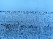 παγωμένο φυσικό πρότυπο γυαλιού Στοκ Φωτογραφία