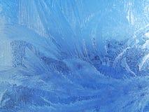 παγωμένο φυσικό πρότυπο γυαλιού Στοκ εικόνα με δικαίωμα ελεύθερης χρήσης