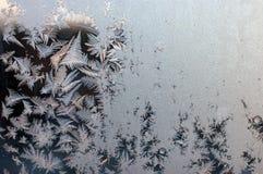 παγωμένο φυσικό πρότυπο Στοκ φωτογραφίες με δικαίωμα ελεύθερης χρήσης