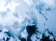 Παγωμένο φυσικό πρότυπο Στοκ Φωτογραφίες