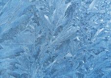 παγωμένο φυσικό πρότυπο Στοκ εικόνα με δικαίωμα ελεύθερης χρήσης