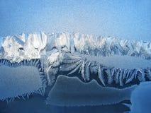 παγωμένο φυσικό πρότυπο Στοκ φωτογραφία με δικαίωμα ελεύθερης χρήσης