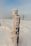 Παγωμένο χιόνι Στοκ φωτογραφία με δικαίωμα ελεύθερης χρήσης