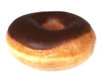 παγωμένο doughnut δαχτυλίδι σοκολάτας Στοκ φωτογραφία με δικαίωμα ελεύθερης χρήσης