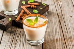 Παγωμένο masala τσαγιού ή chai Στοκ φωτογραφία με δικαίωμα ελεύθερης χρήσης