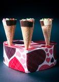 Παγωτά στην κορνέτα Στοκ φωτογραφία με δικαίωμα ελεύθερης χρήσης