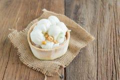 Παγωτό γάλακτος καρύδων Στοκ Εικόνα