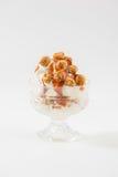Παγωτό με το λαϊκό καλαμπόκι Στοκ εικόνες με δικαίωμα ελεύθερης χρήσης