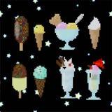 Παγωτό στην τέχνη lego στοκ φωτογραφίες