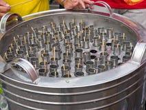Παγωτό σωλήνων Στοκ εικόνα με δικαίωμα ελεύθερης χρήσης
