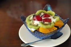 Παγωτό φρούτων στοκ φωτογραφίες με δικαίωμα ελεύθερης χρήσης