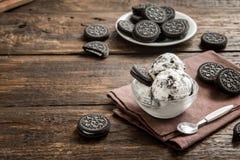 Παγωτό Oreo στοκ φωτογραφίες