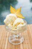 Παγωτό Starfruit από τη λίμνη Στοκ Εικόνα