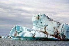παγόβουνα Ισλανδία jokulsarlon Στοκ φωτογραφία με δικαίωμα ελεύθερης χρήσης