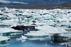 παγόβουνα κόλπων icelands joekulsarlon Στοκ φωτογραφίες με δικαίωμα ελεύθερης χρήσης