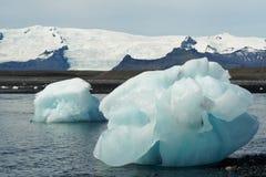 παγόβουνα κόλπων icelands joekulsarlon Στοκ εικόνα με δικαίωμα ελεύθερης χρήσης