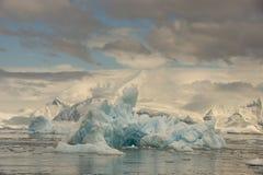 Παγόβουνα στην Ανταρκτική Στοκ Φωτογραφία