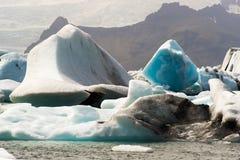 Παγόβουνα του κόλπου Joekulsarlon στοκ εικόνες με δικαίωμα ελεύθερης χρήσης