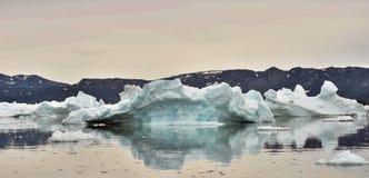παγόβουνα Φύση και τοπία της δυτικής Γροιλανδίας Στοκ φωτογραφία με δικαίωμα ελεύθερης χρήσης