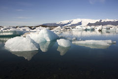 Παγόβουνα Joekulsarlon, Ισλανδία Στοκ Φωτογραφία