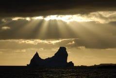 Παγόβουνο στην Ανταρκτική Στοκ φωτογραφίες με δικαίωμα ελεύθερης χρήσης