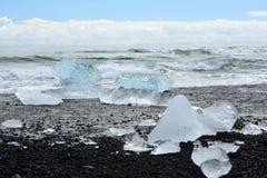 Παγόβουνο στην παραλία στοκ εικόνες