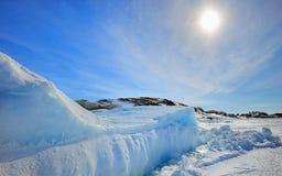 Παγόβουνο στη Γροιλανδία στοκ εικόνες με δικαίωμα ελεύθερης χρήσης